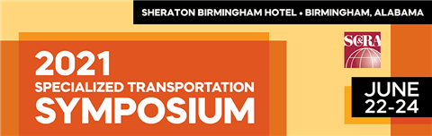 SC&RA has had to reschedule the Specialized Transportation Symposium to 22 - 24 June, 2021